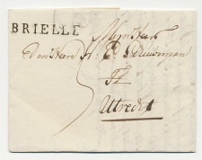 Brielle - Utrecht 1817
