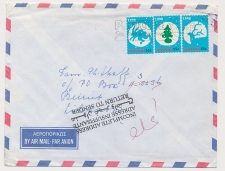 Leidschendam  - Libanon 1998 - Incomplete Address - Return