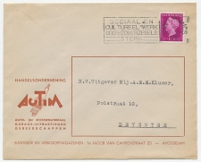 Firma envelop Amsterdam 1949 - Automateriaal